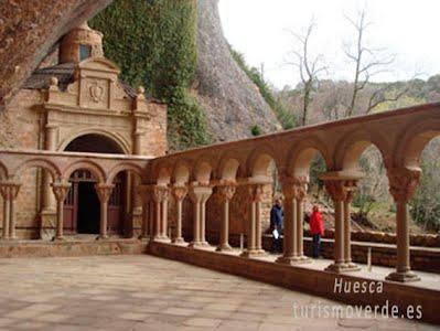 TURISMO VERDE HUESCA. Monasterio San Juan de la Peña.